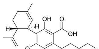 acide cannabidiolique - CBDA